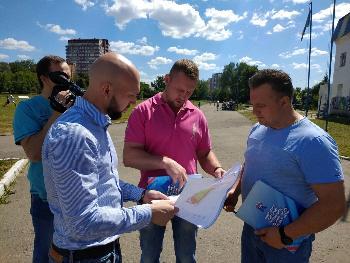 cfcacea79 Обсуждение реконструкции футбольного поля и физкультурно-спортивного  комплекса «Пушкино» прошло 19 июня